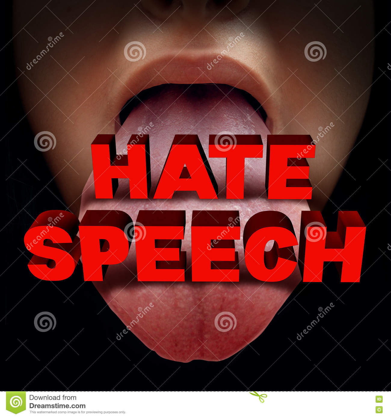 Hate Cartoons Illustrations Vector Stock Images 3319