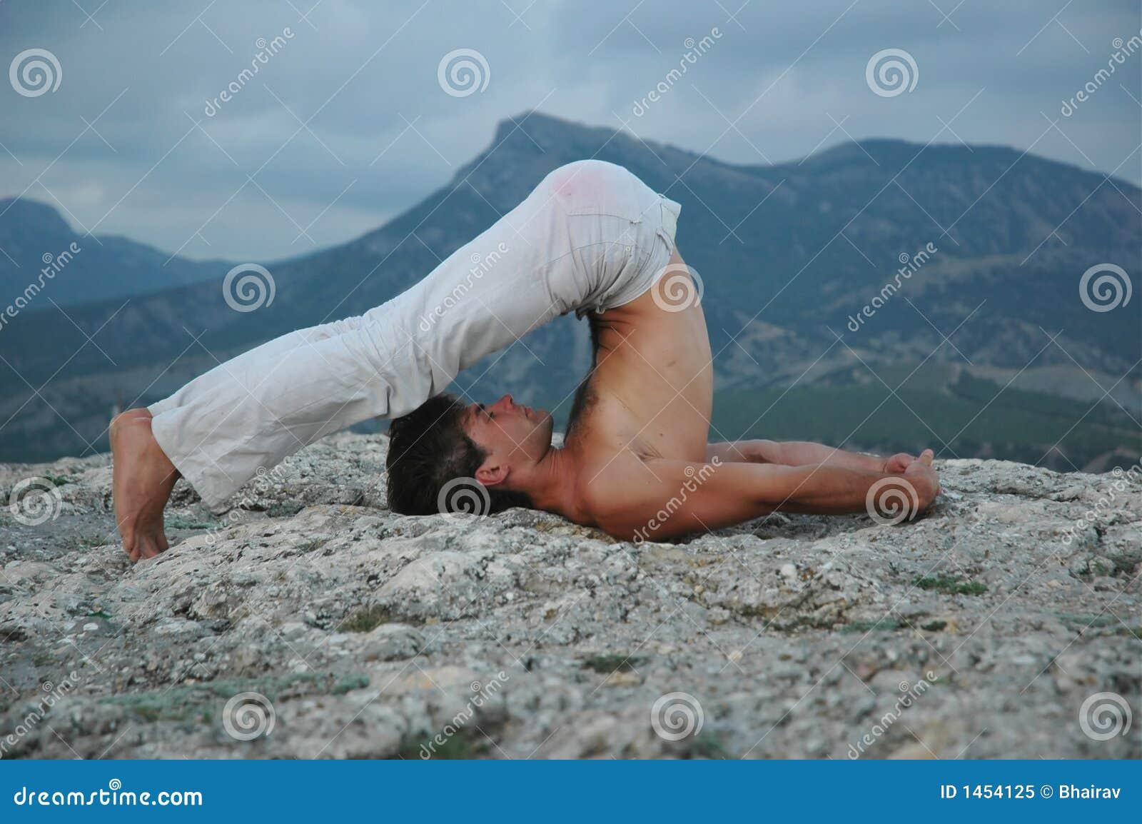 Hatha-yoga: halasana