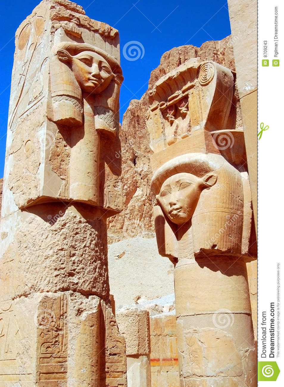 Hathor Statue Stock Photos - Image: 8709243