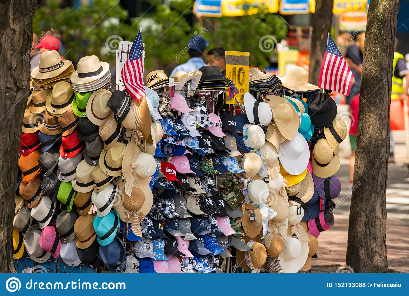 Hats for sale in New York