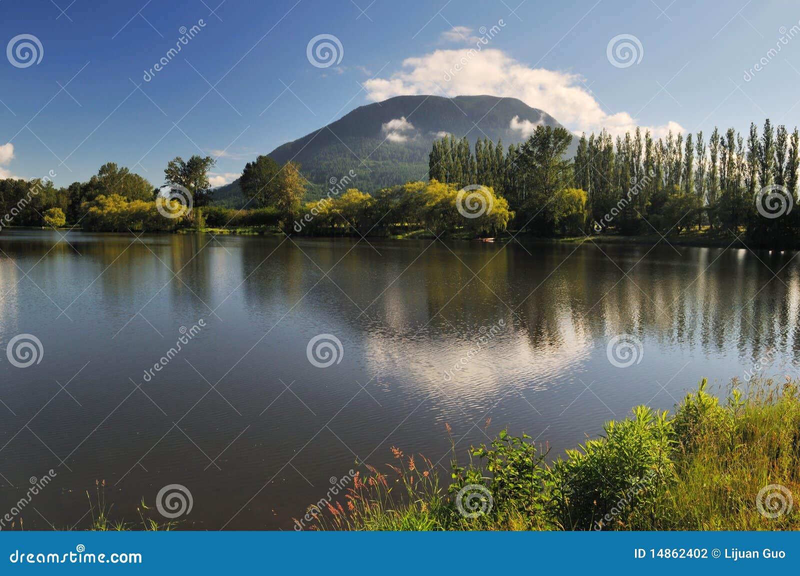 Hatzic Lake in Mission, British Columbia