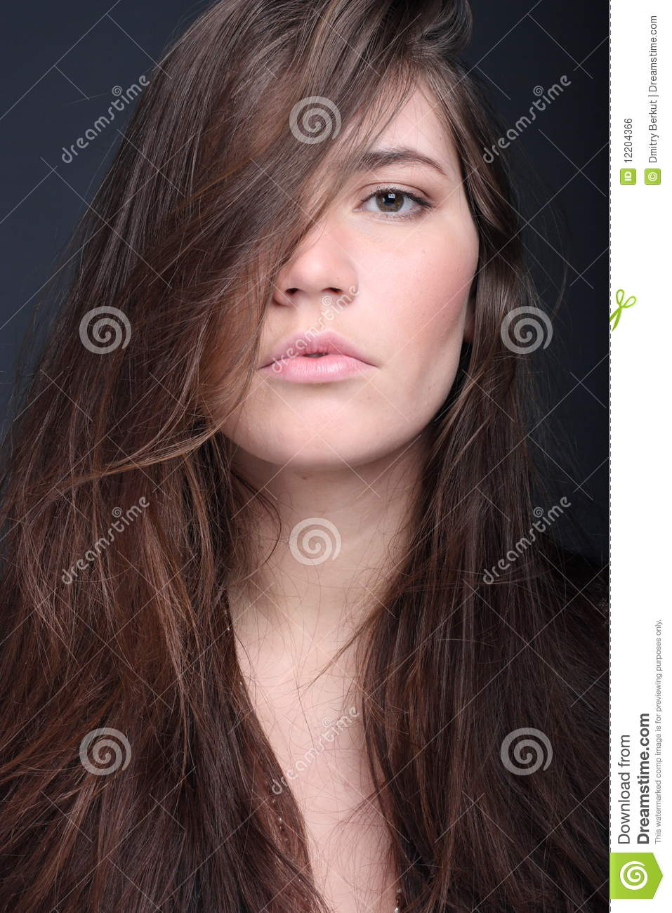 Haughty Woman Stock Photo Image Of Head Black Isolated