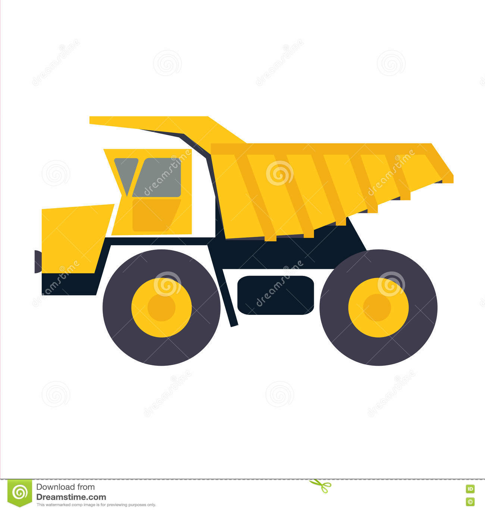 truck with sand icon cartoon vector cartoondealer com backhoe clipart image backhoe clip art clip art