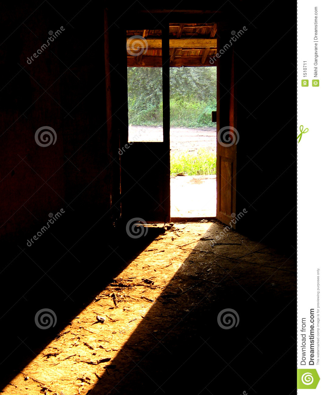 Haunted door stock image image of entrance fearsome for 13 door haunted house