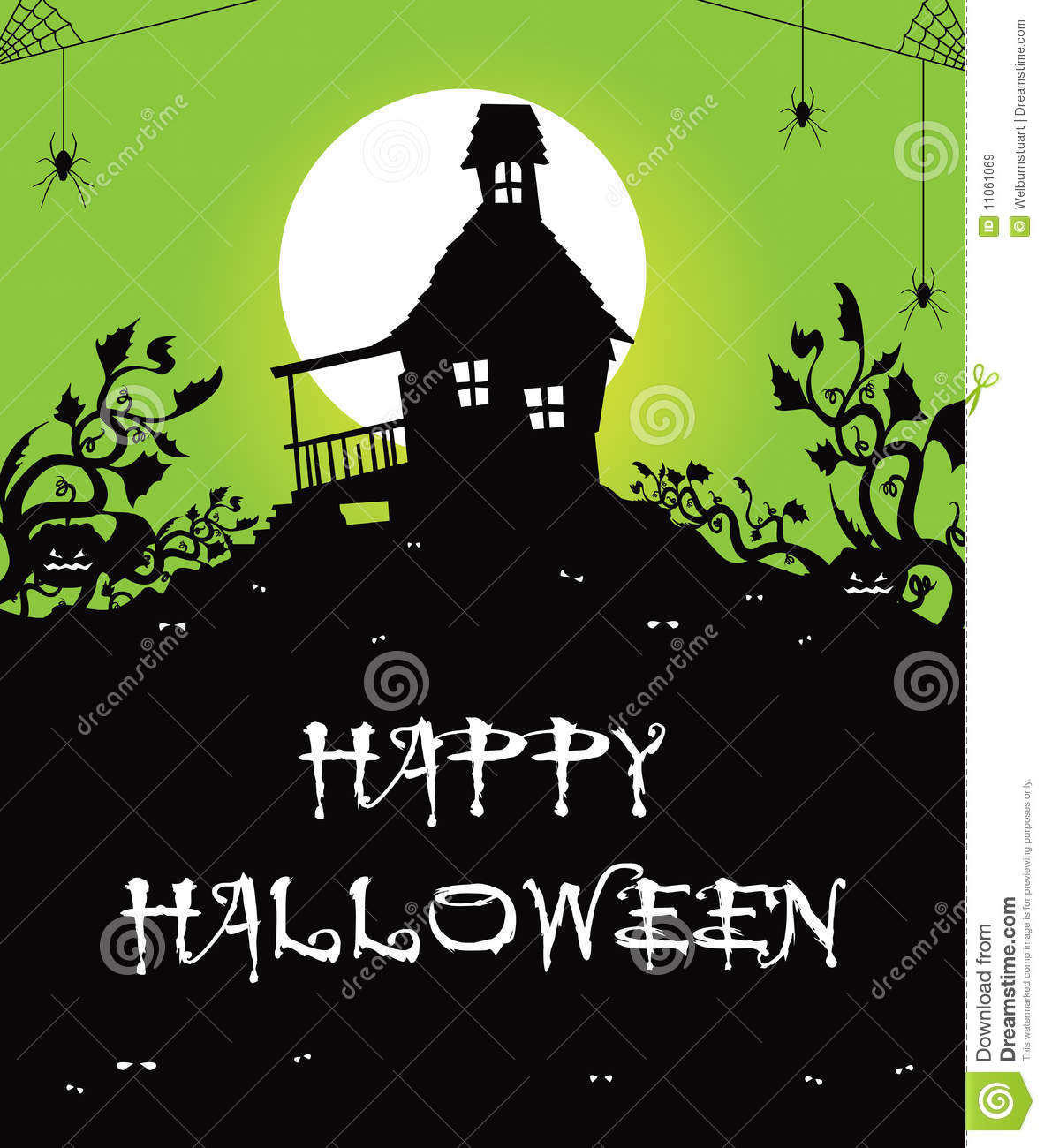 Haunted House Royalty Free Stock Images Image 11061069