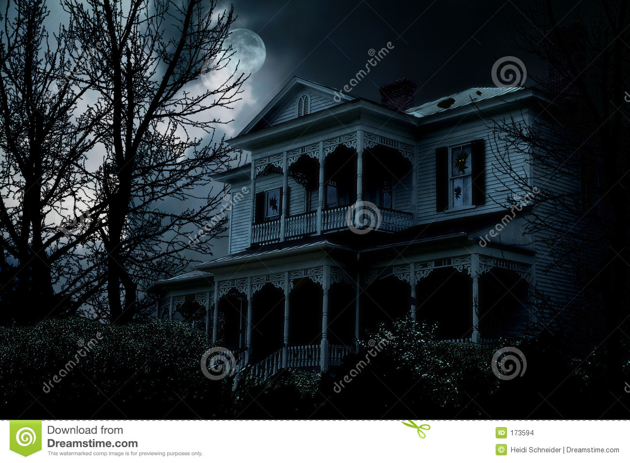 Haunted House Stock Photo Image Of Evil Haunted