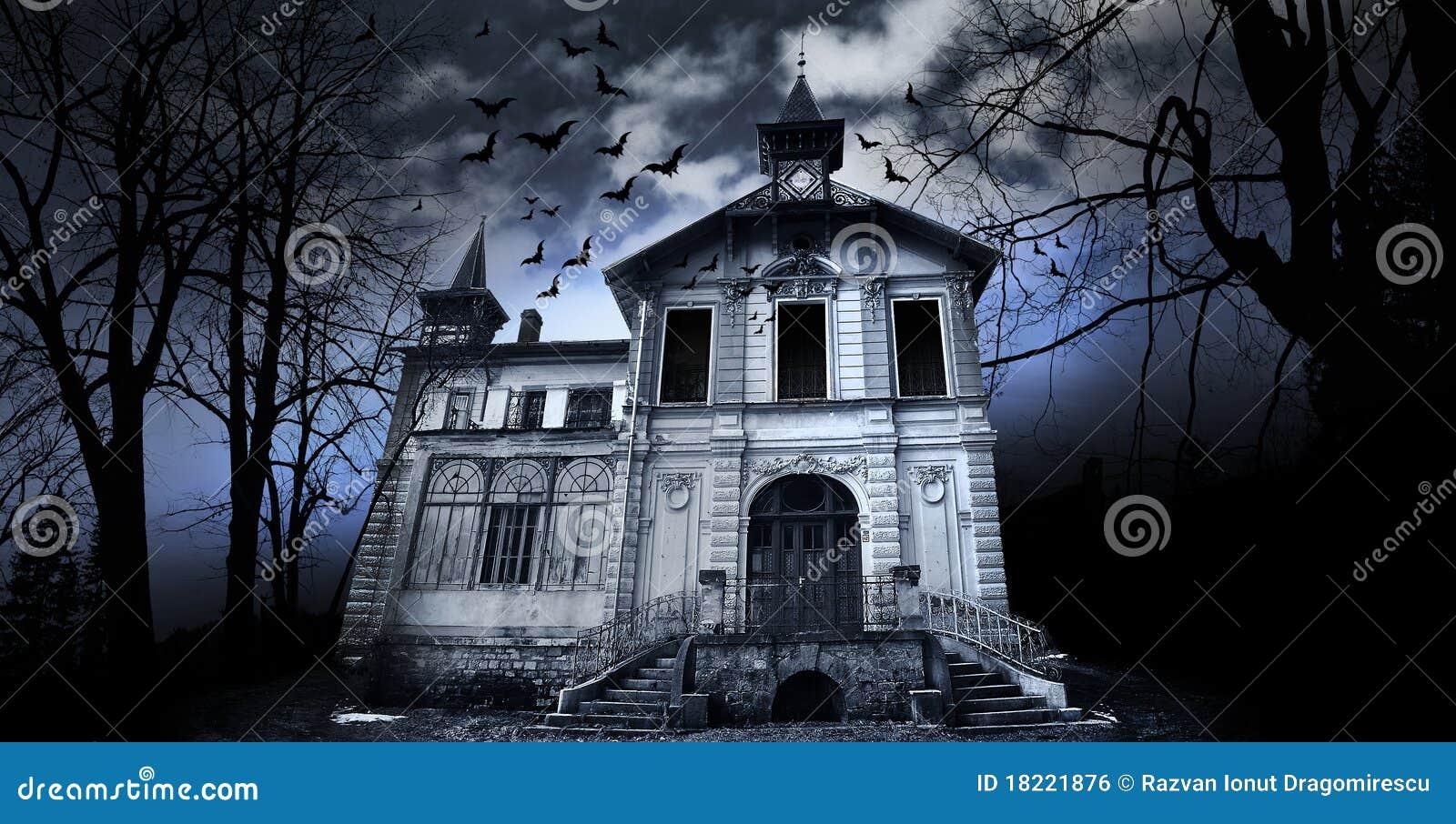Haunted House Royalty Free Stock Image Image 18221876