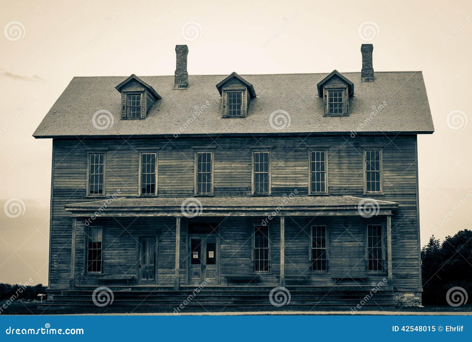 Haunted House Stock Photo Image 42548015