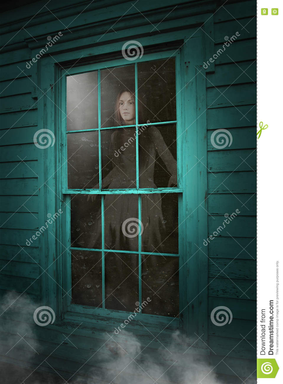 Haunted House Ghost, Dead Woman