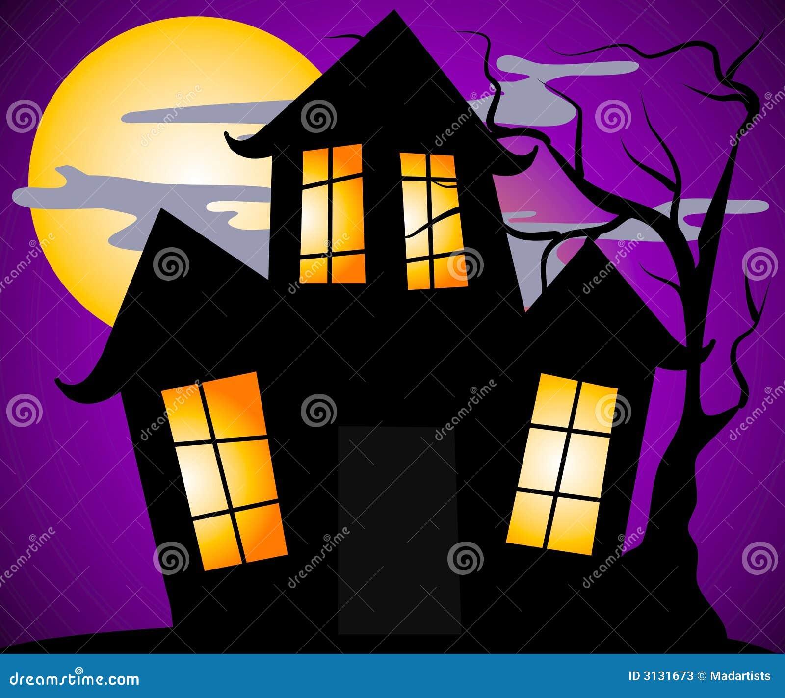 halloween scene clipart - photo #31