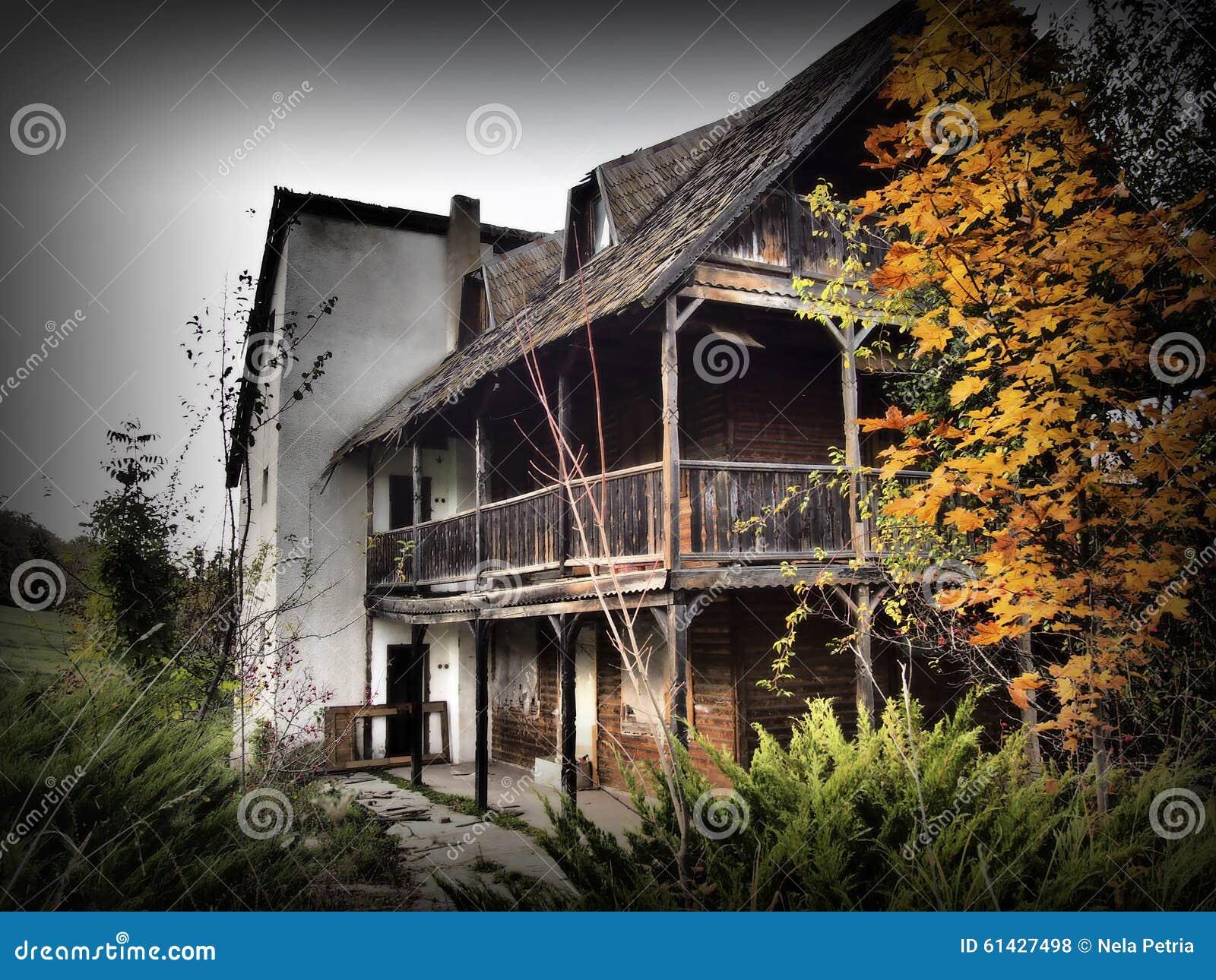 Haunted House Stock Photo Image 61427498