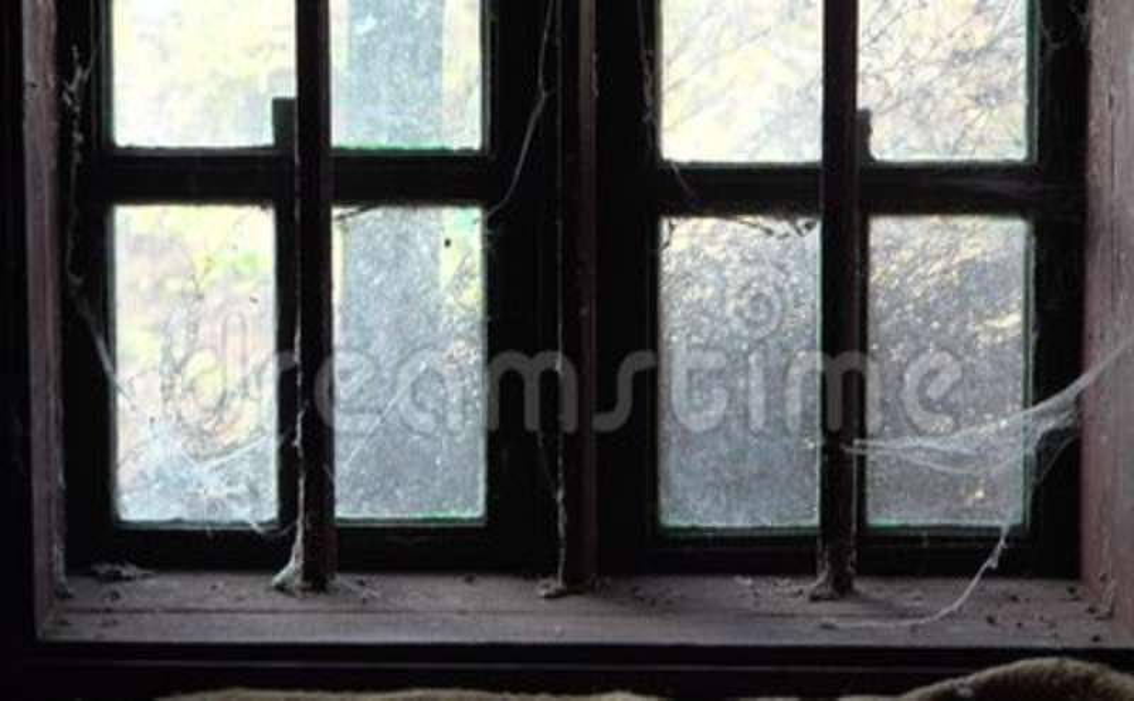 Haunted Old Abandoned House Window