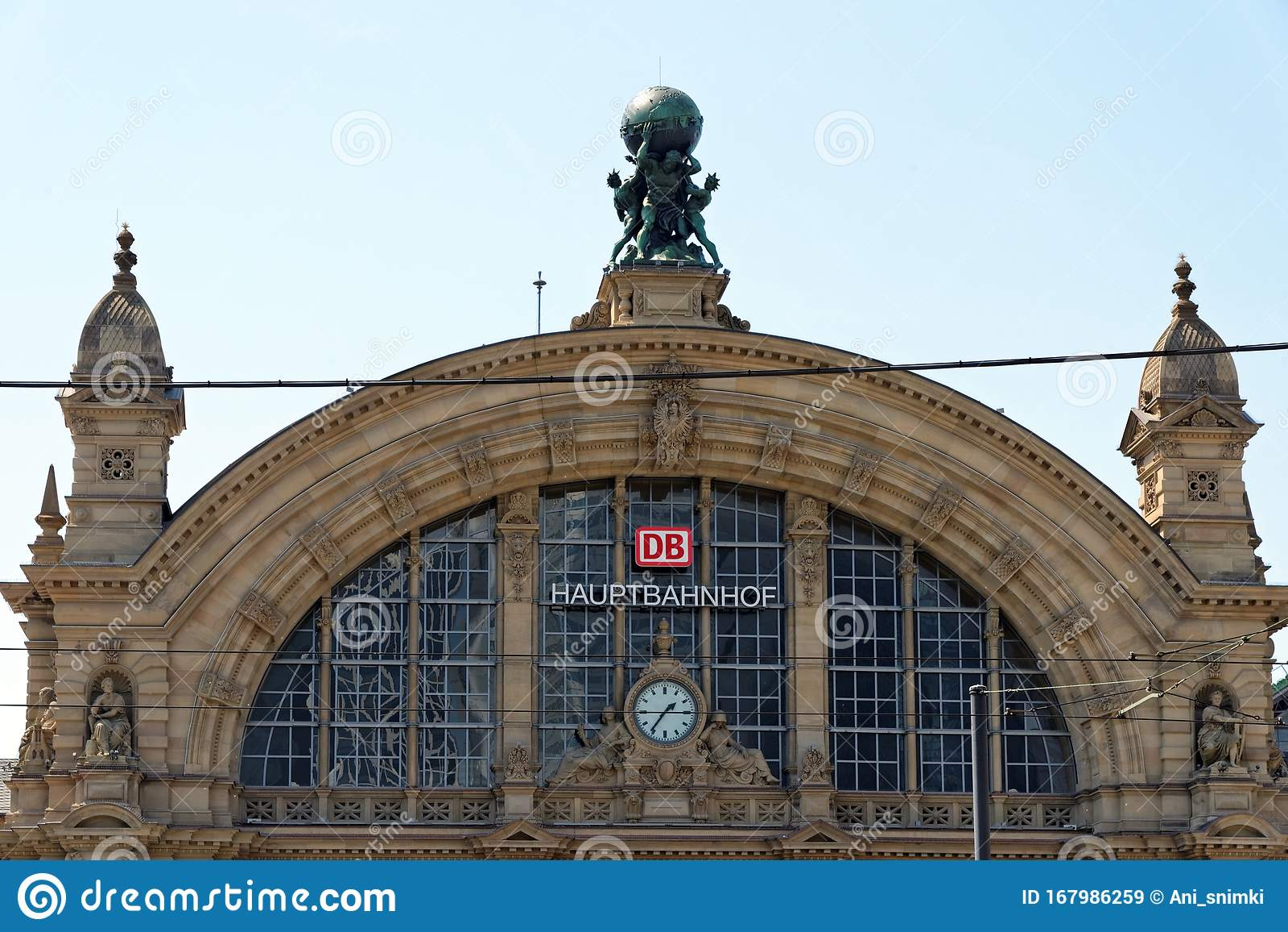 Deutsche Bahn Frankfurt Hauptbahnhof