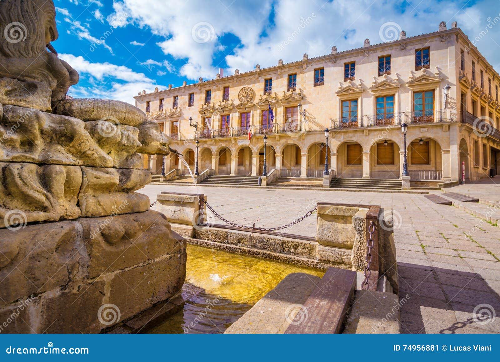 Hauptplatz in Soria
