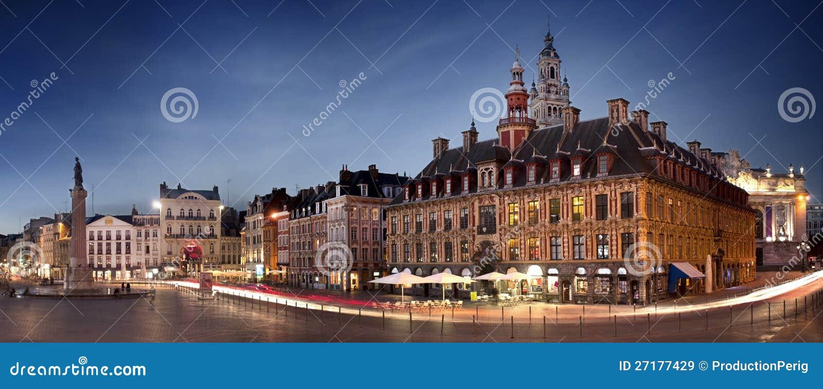 Hauptquadrat von Lille, Frankreich
