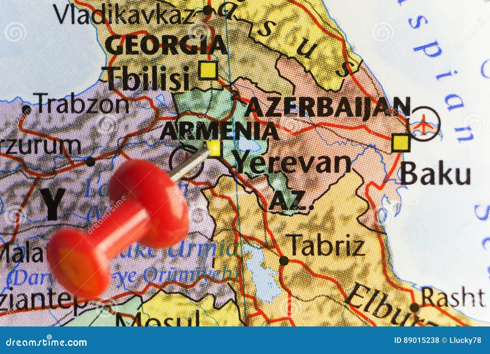Hauptstadt Eriwans Von Armenien Stockfoto Bild Von Feiertag Yerevan 89015238