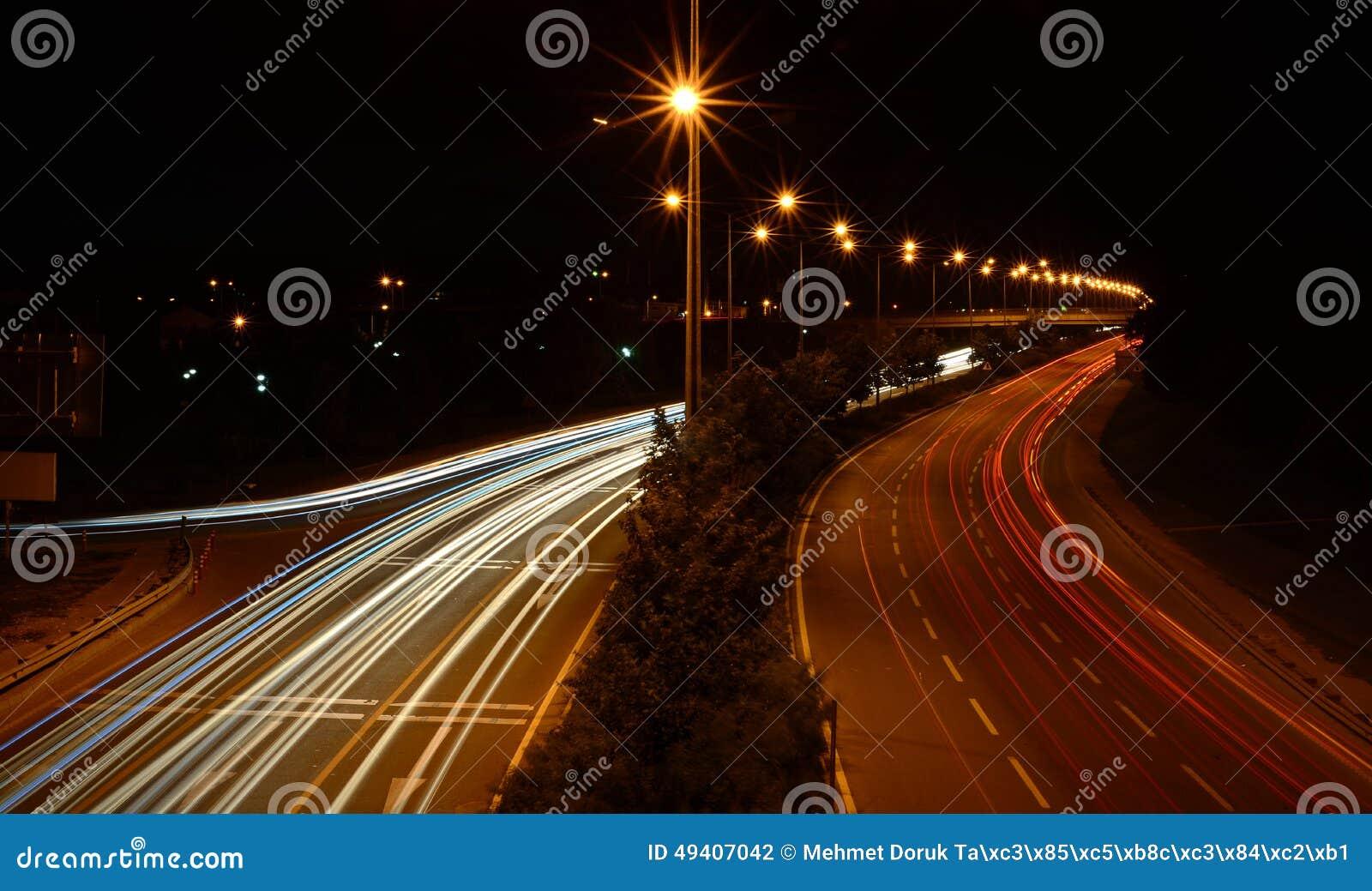 Download Hauptverkehrszeit Auf Landstraße Stockfoto - Bild von störung, ausrüstung: 49407042