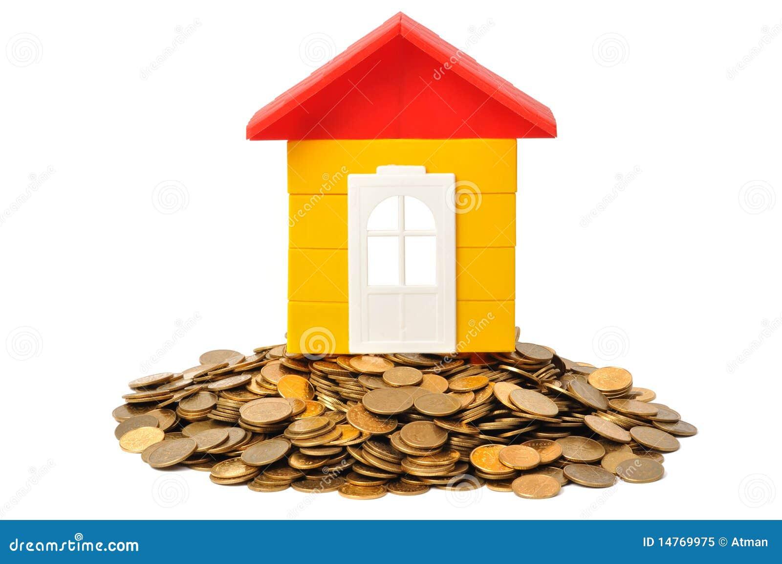 Haus stockbild. Bild von erfolg, hypothek, kostspielig ...