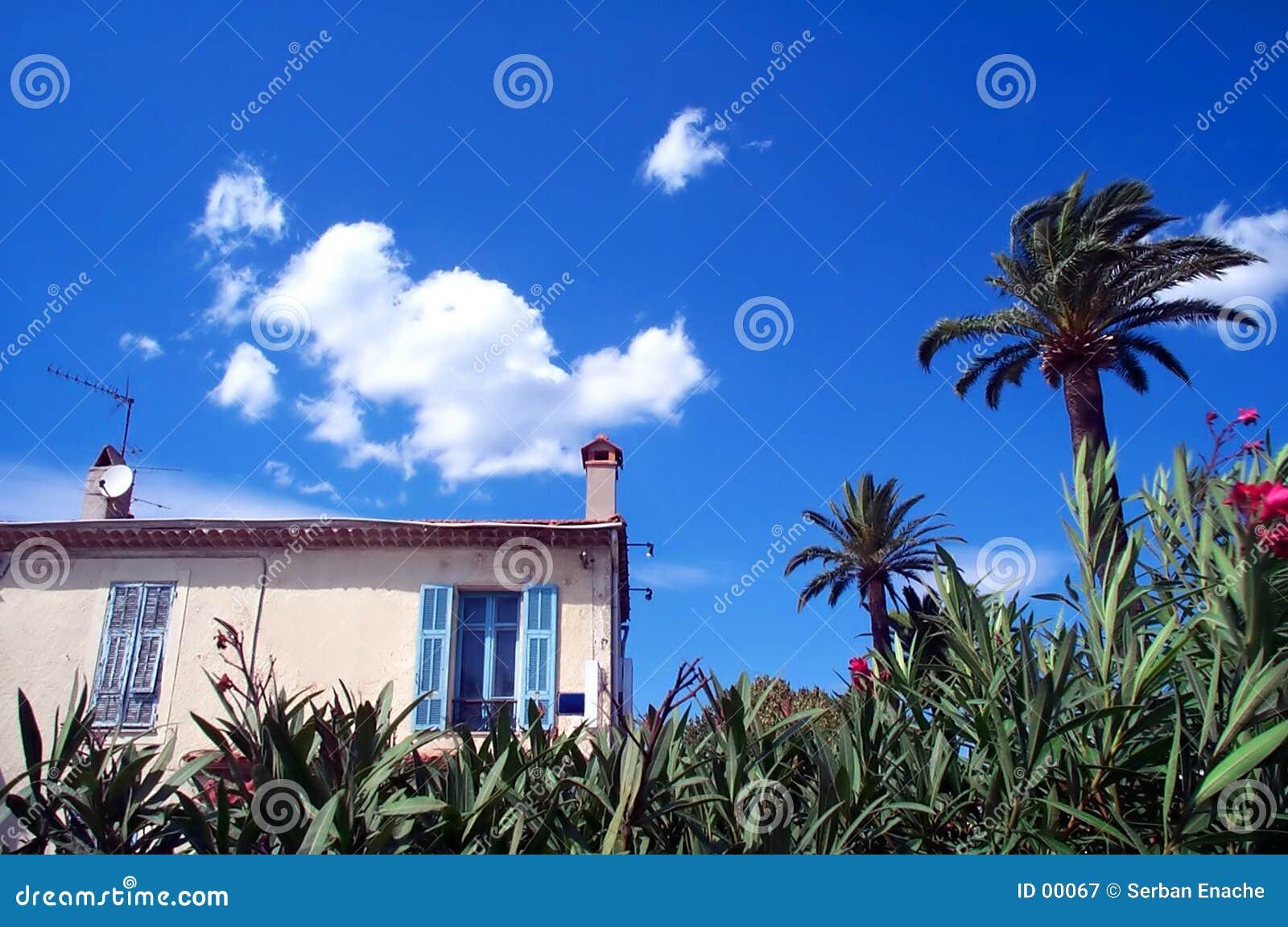 Haus auf dem Strand