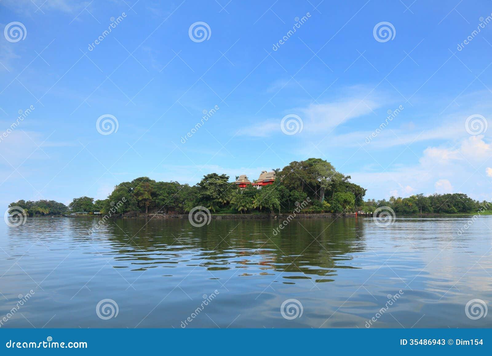 Haus auf Insel
