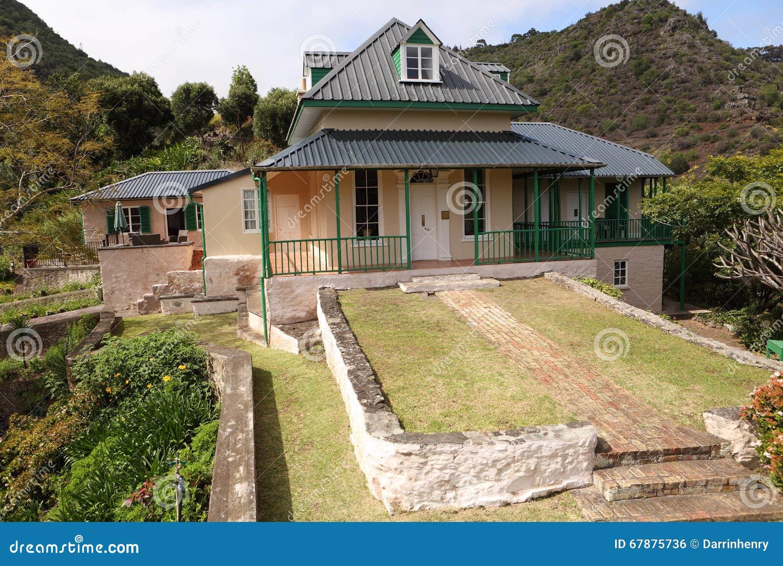 Haus briars pavillon st helena island von napoleon for Haus island