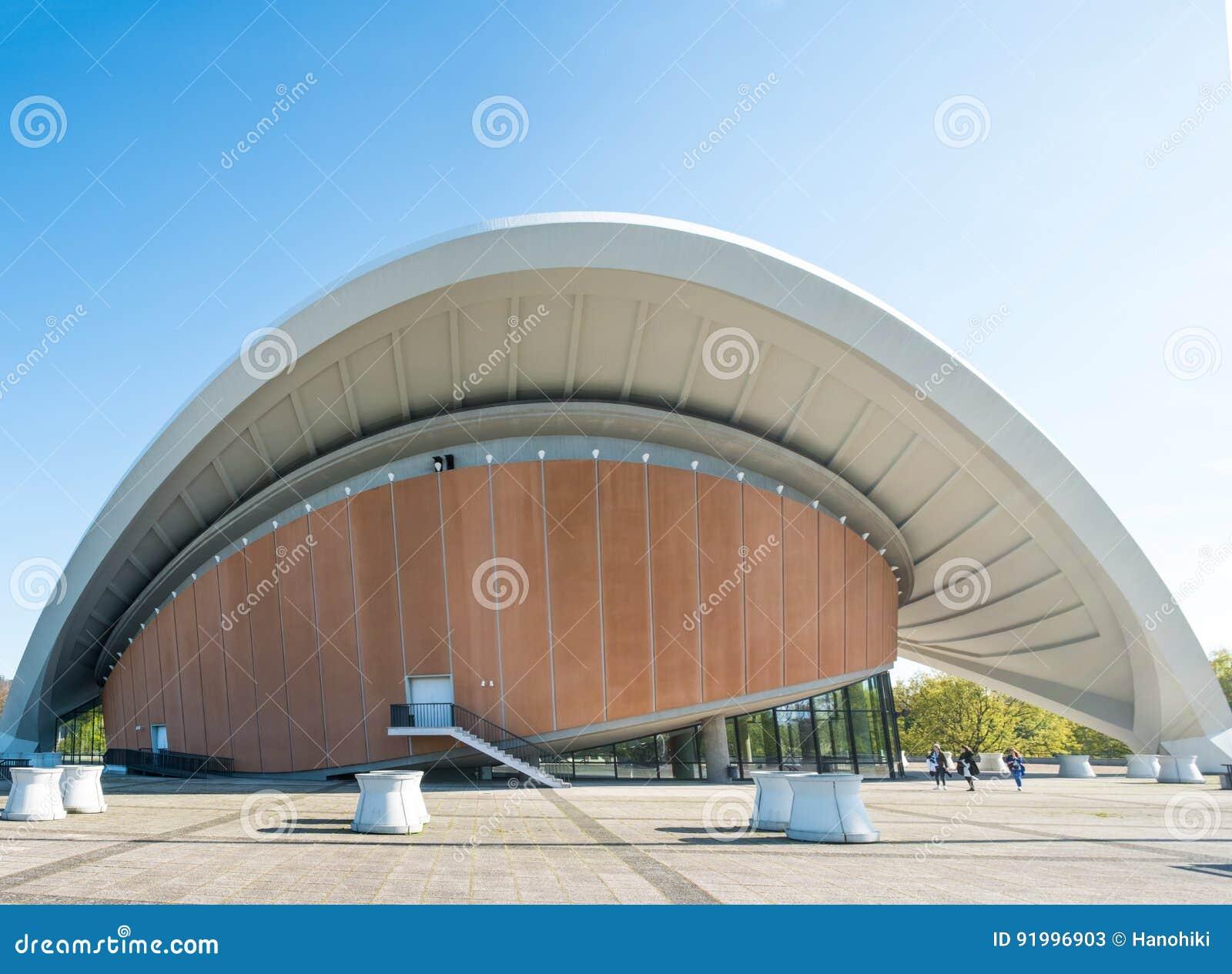 ` Haus dera Kulturen dera obrzęku dom Światowe ` kultury w Berlin
