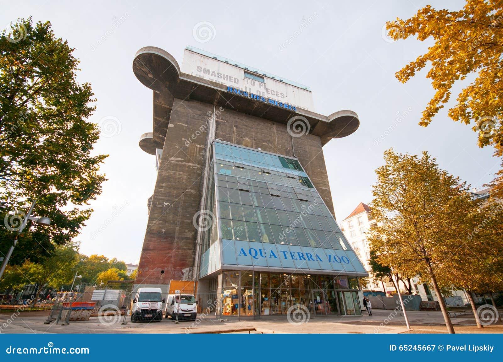 Haus Des Meeres Sea House In Vienna Austria Editorial