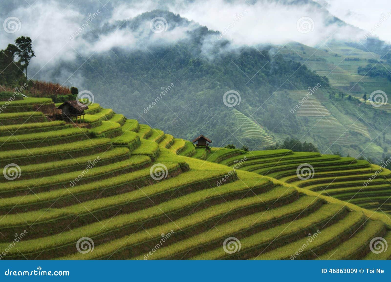 3 Haus-Dorf (Thon-Ba Nha), nordwestlich von Vietnam