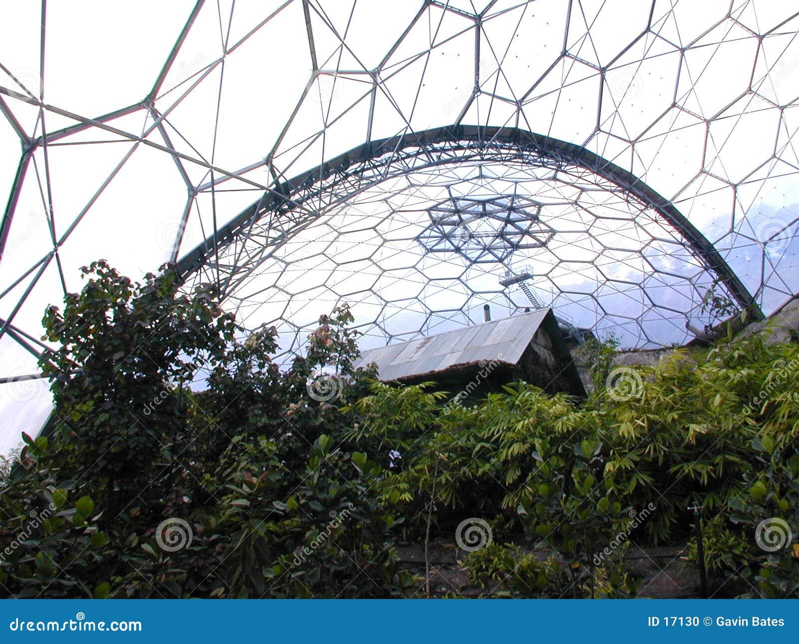 Haus in einem Biome
