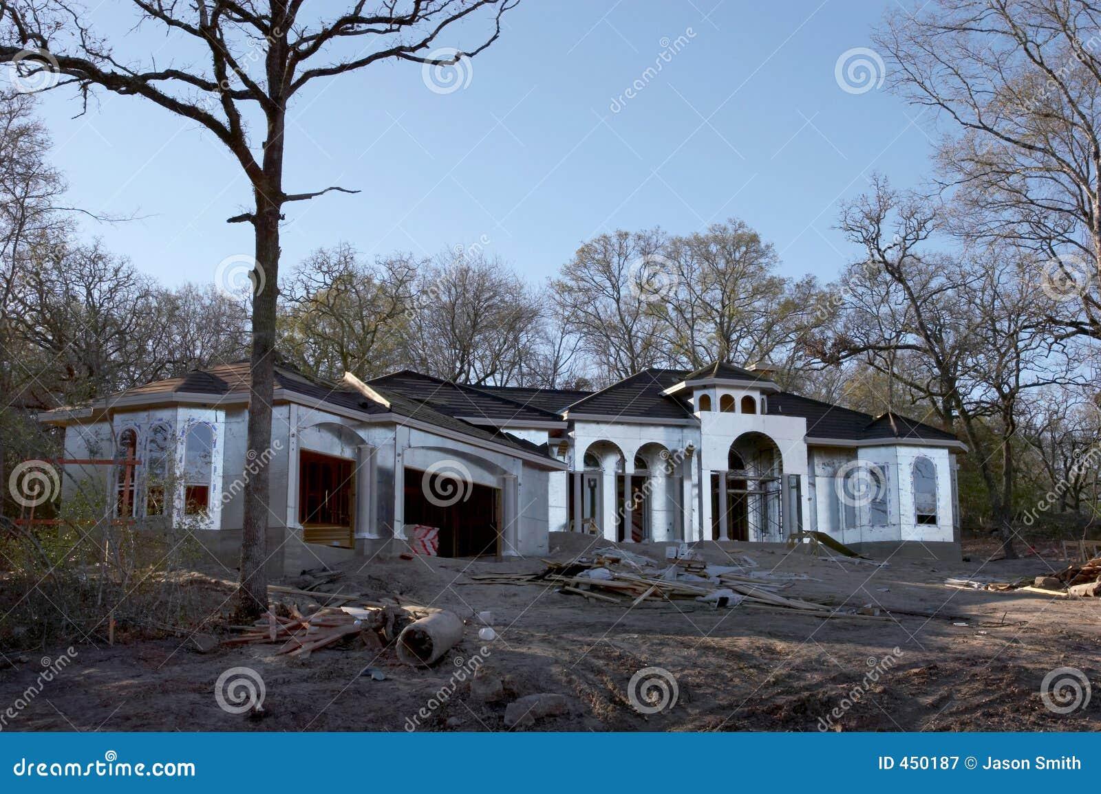 Haus-Gestaltung stockbild. Bild von kanal, querneigung - 450187