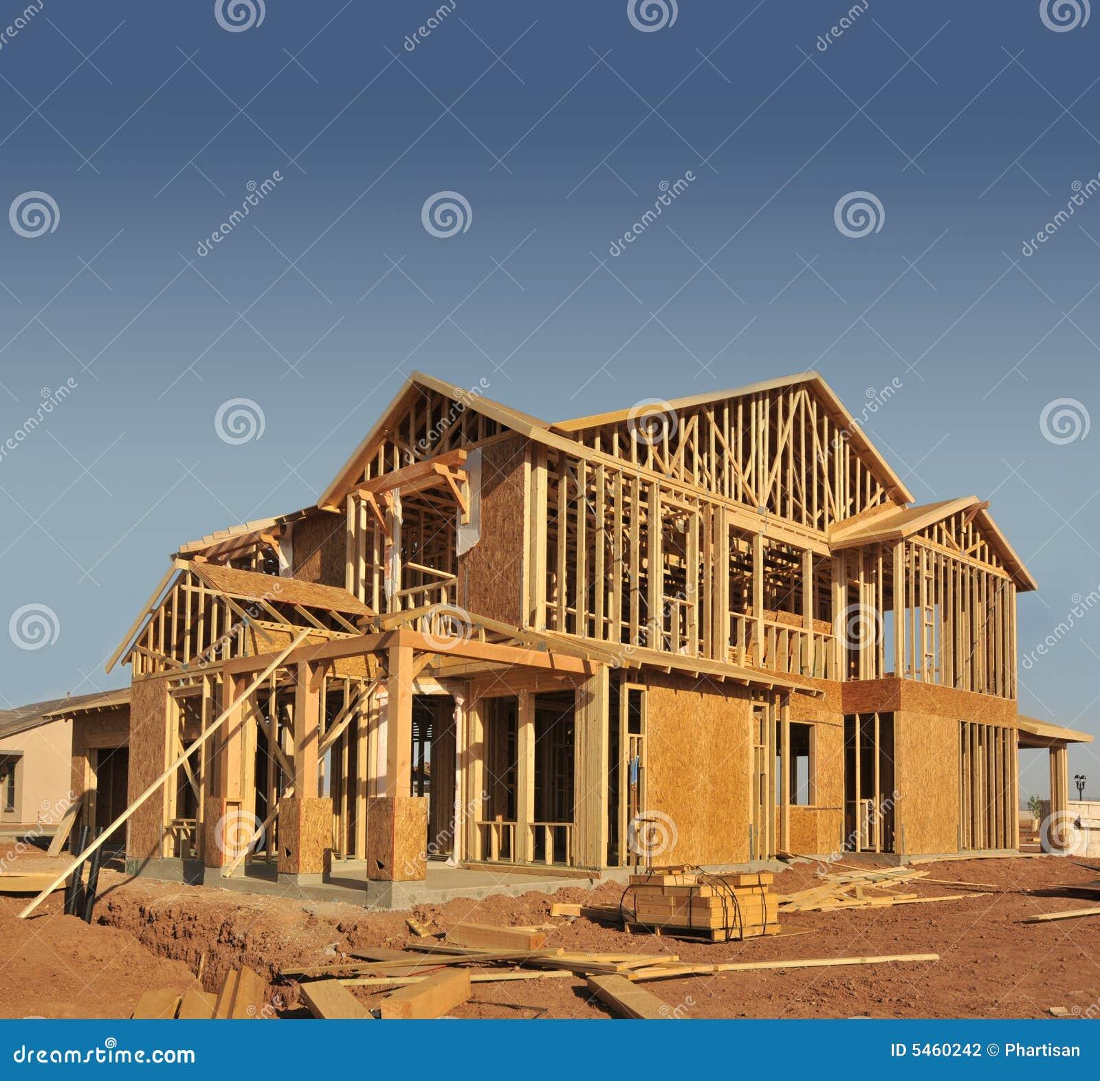 Haus im Bau