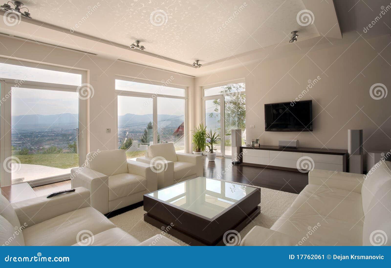 Haus-Innenraum stockbild. Bild von möbel, aufbau, modern - 17762061