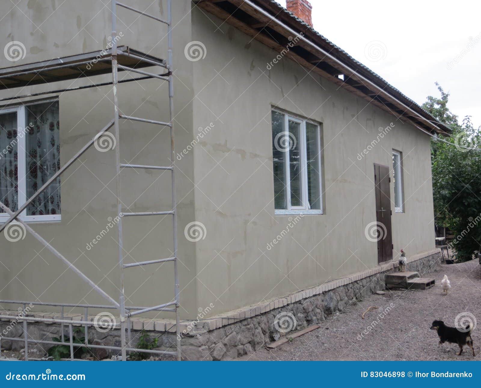 Haus Isolierung Stockfoto Bild Von Feld Hitze Architektur 83046898