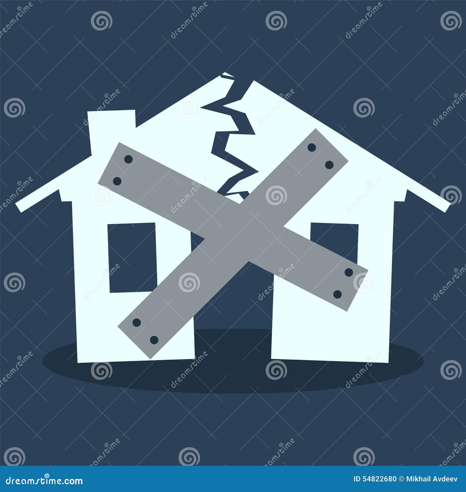 Haus schließen