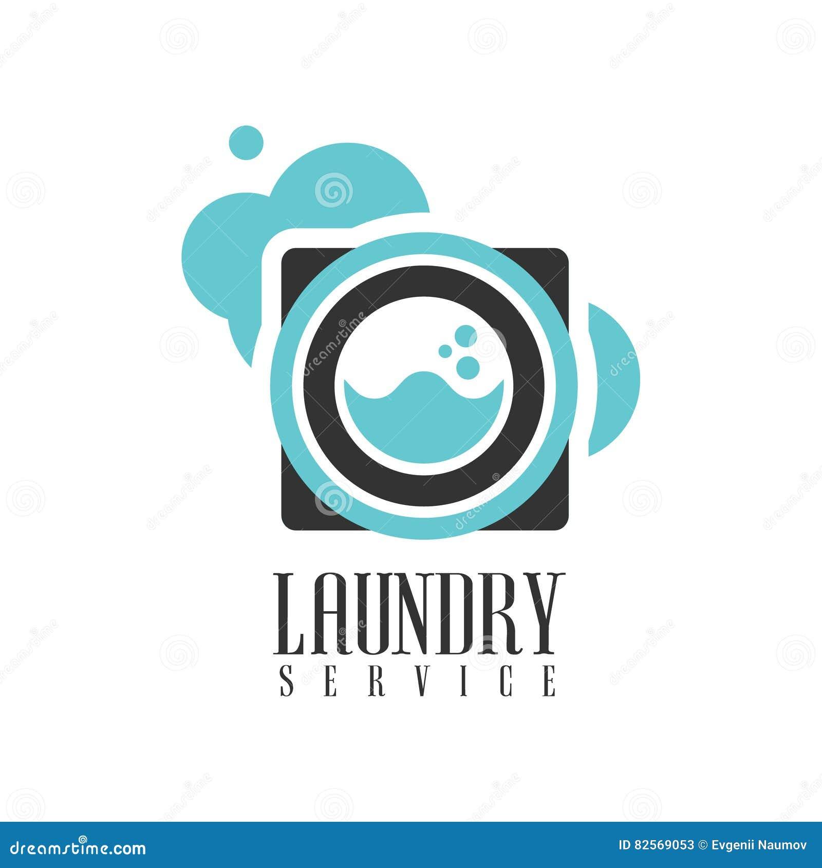 Haus-und Büro-Reinigungs-Service-Miete Logo Template With Washing ...