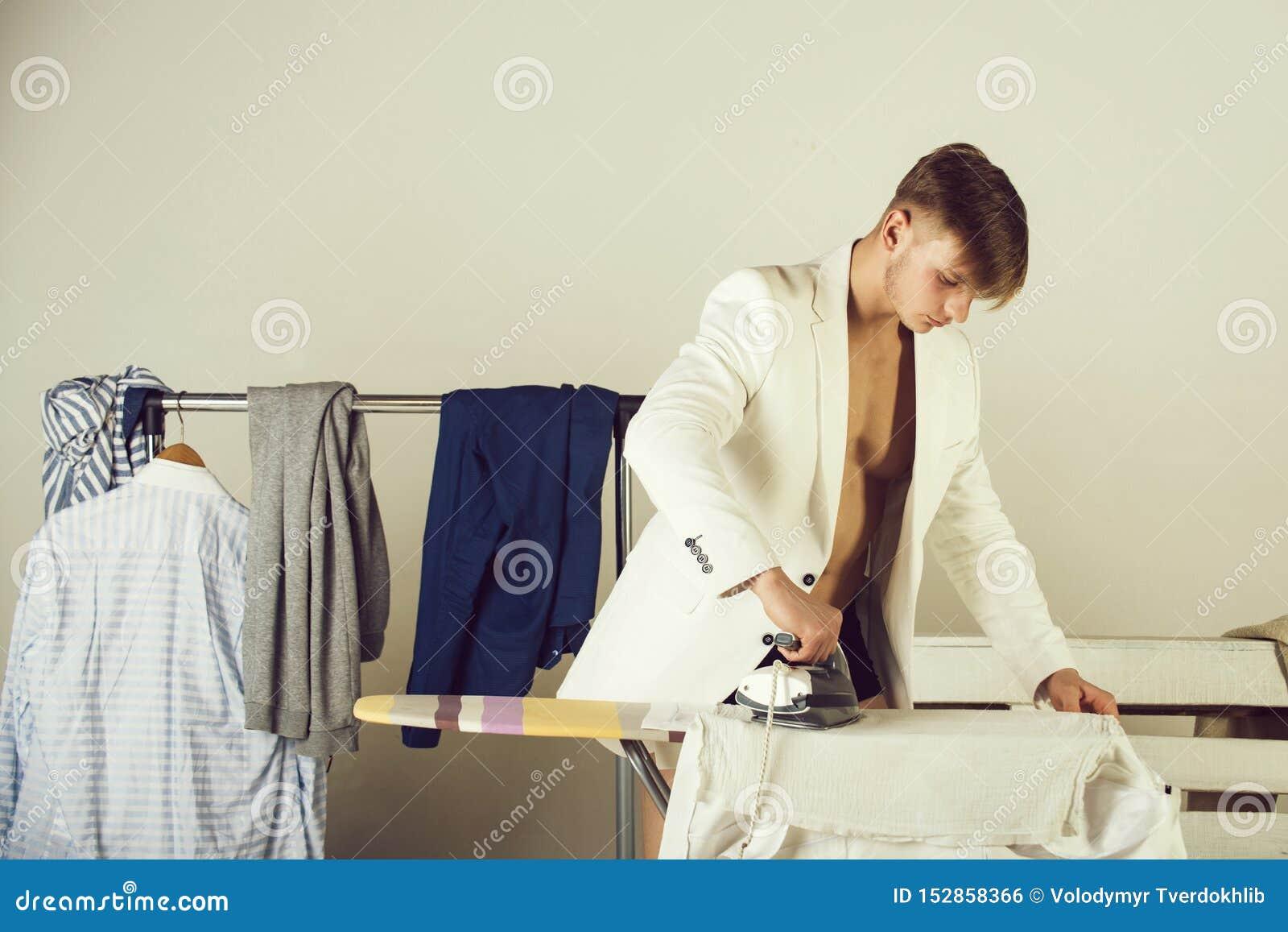 Hausarbeit- und Modekonzept