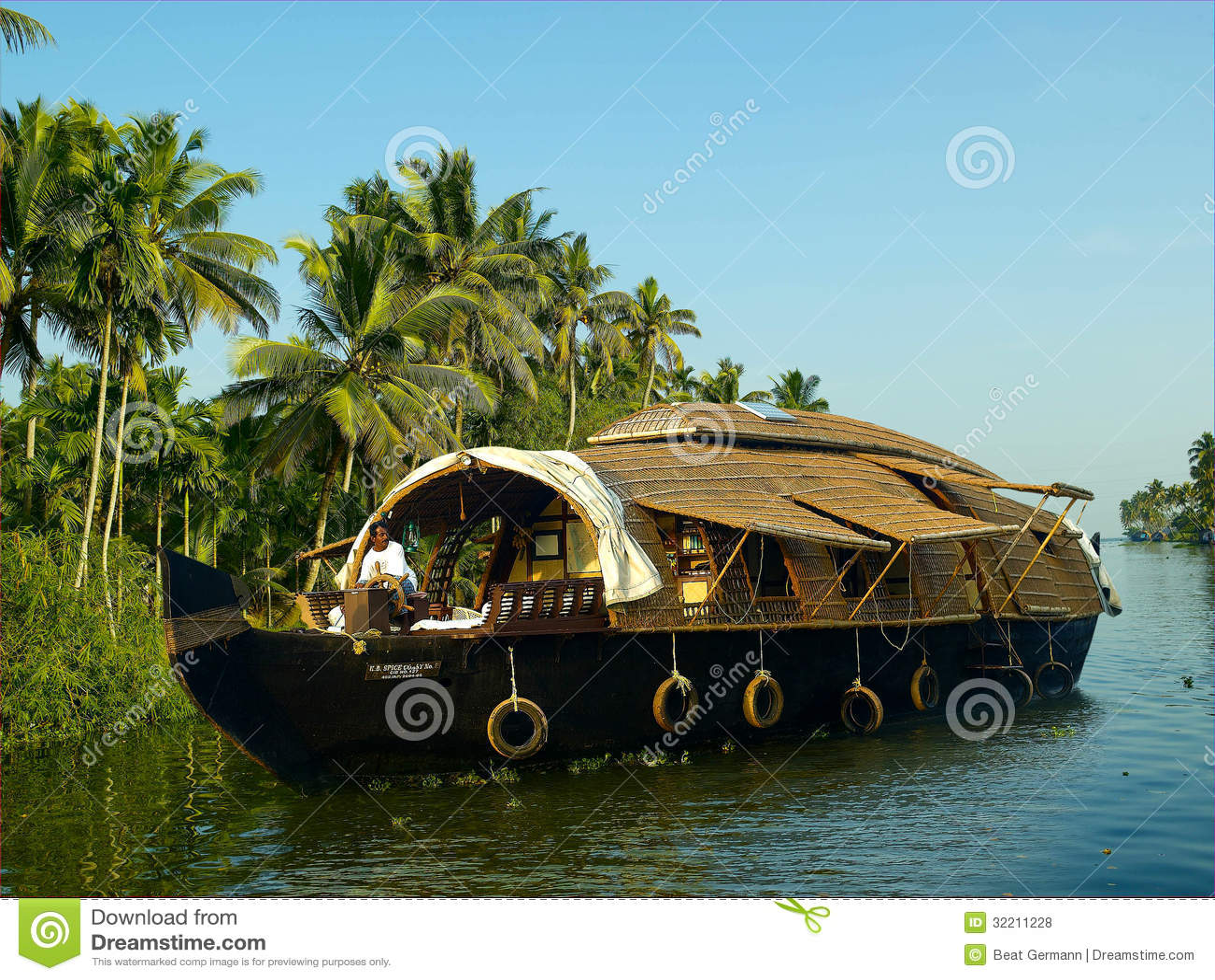 Chinesisches Hausboot