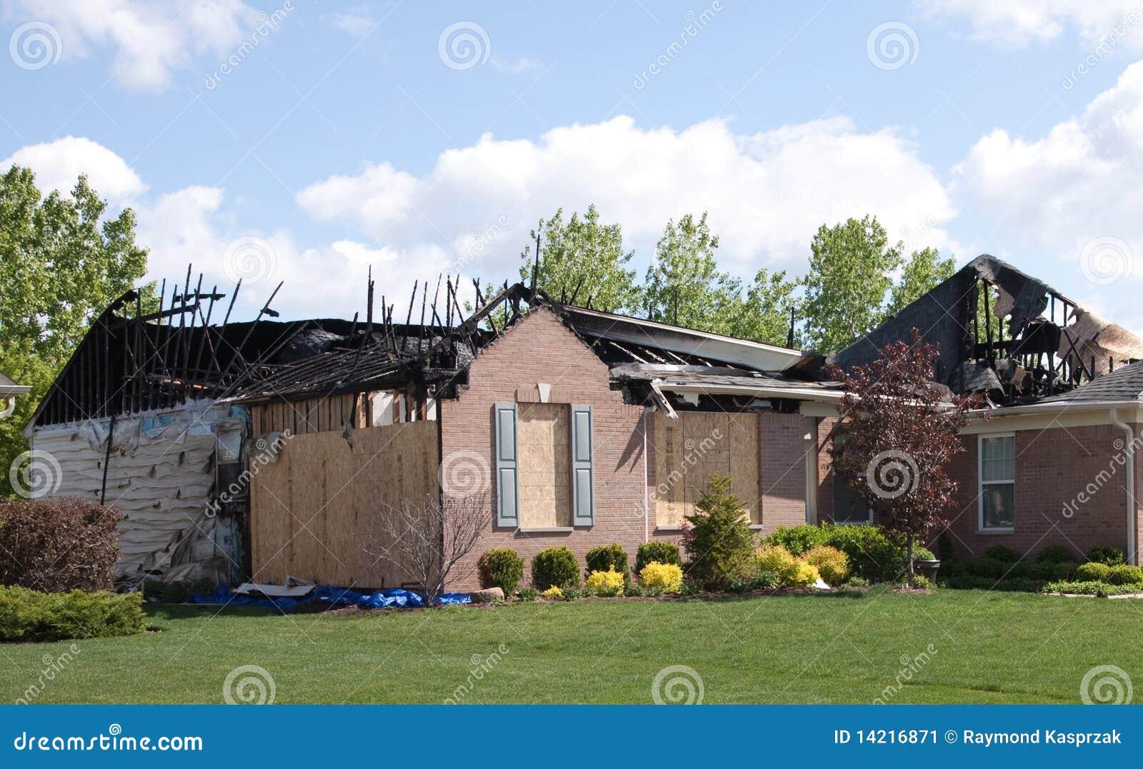 HausBrandschaden