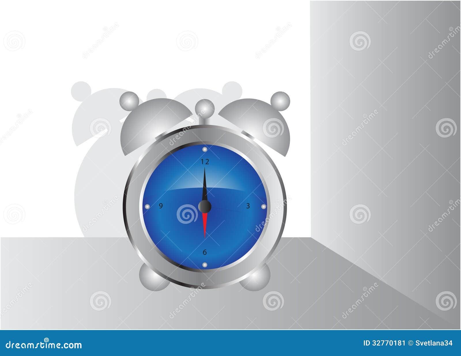 Haushaltsartikel wecker vektor abbildung illustration for Design haushaltsartikel