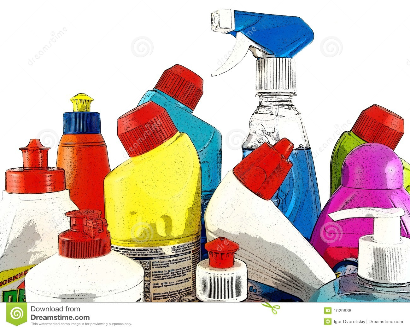 Haushaltschemikalienwaren