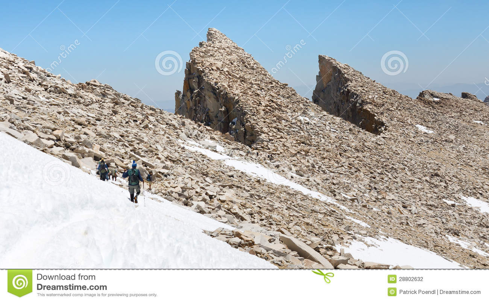 Hausse du Mont Whitney