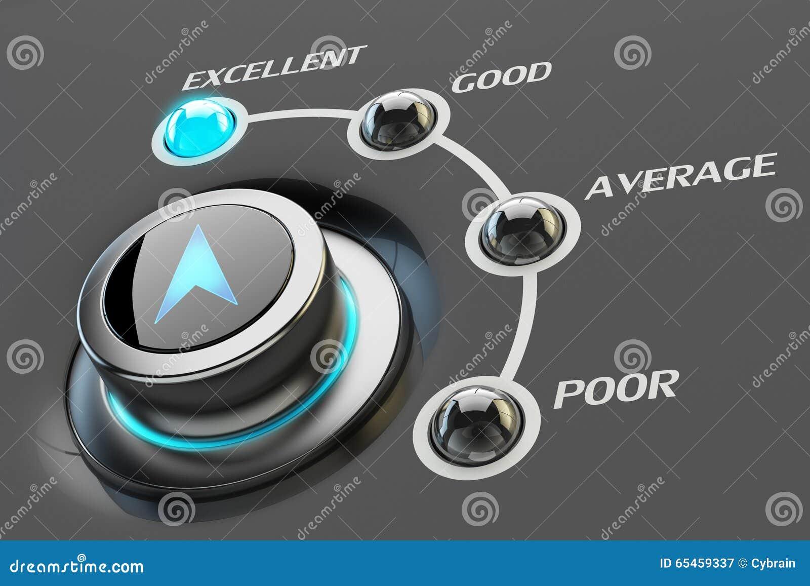 haut niveau de service de qualit u00e9  de comp u00e9tence et de concept d u0026 39 efficacit u00e9 illustration stock