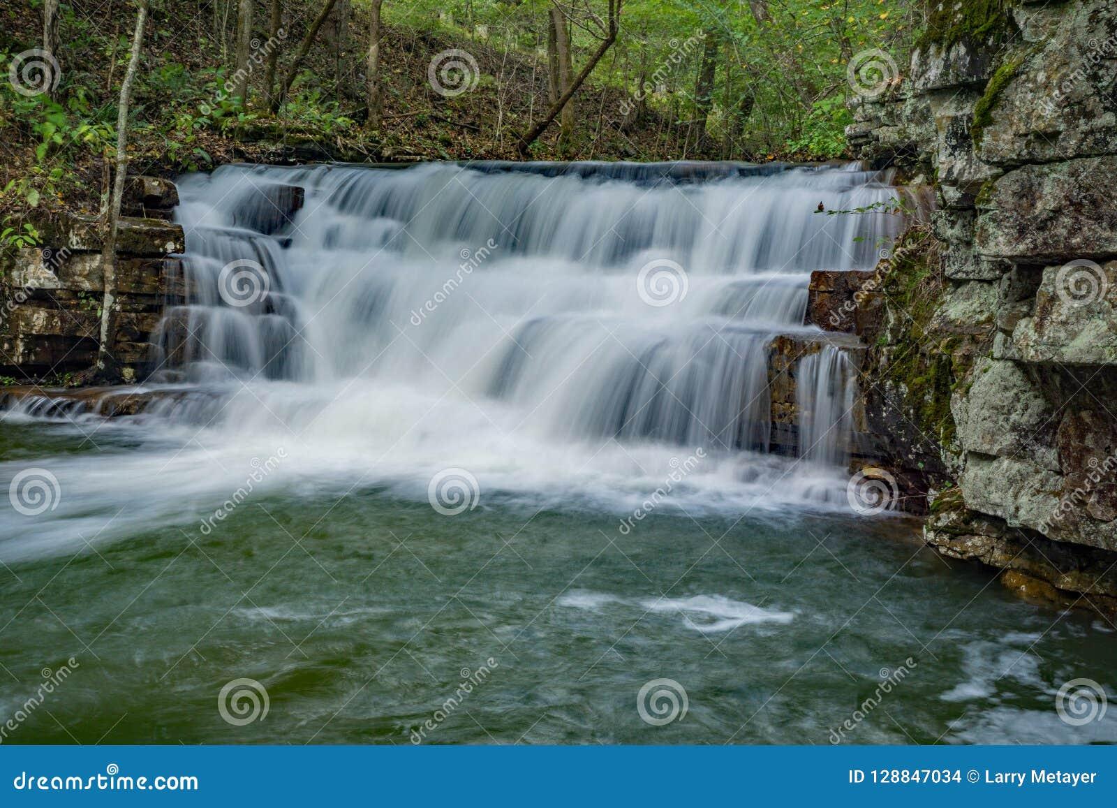 Hautes eaux à la cascade de mines de Fenwick - 2