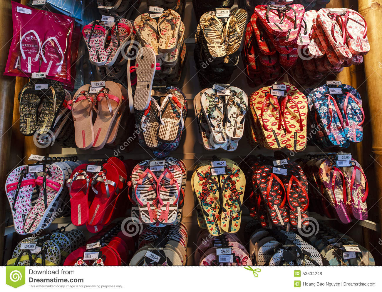 6d0d08f9dd9392 Havaianas Products In Brazil Editorial Stock Photo - Image of flip ...