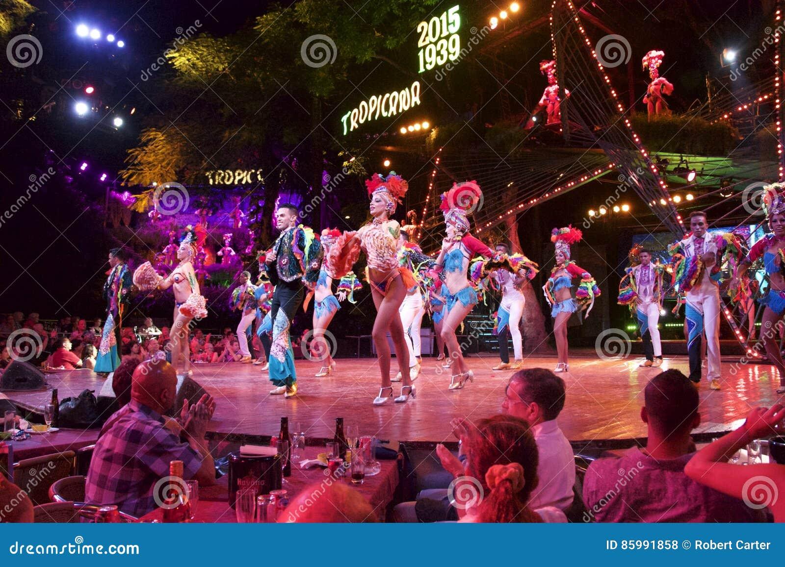 Havana Cuba Tropicana night club