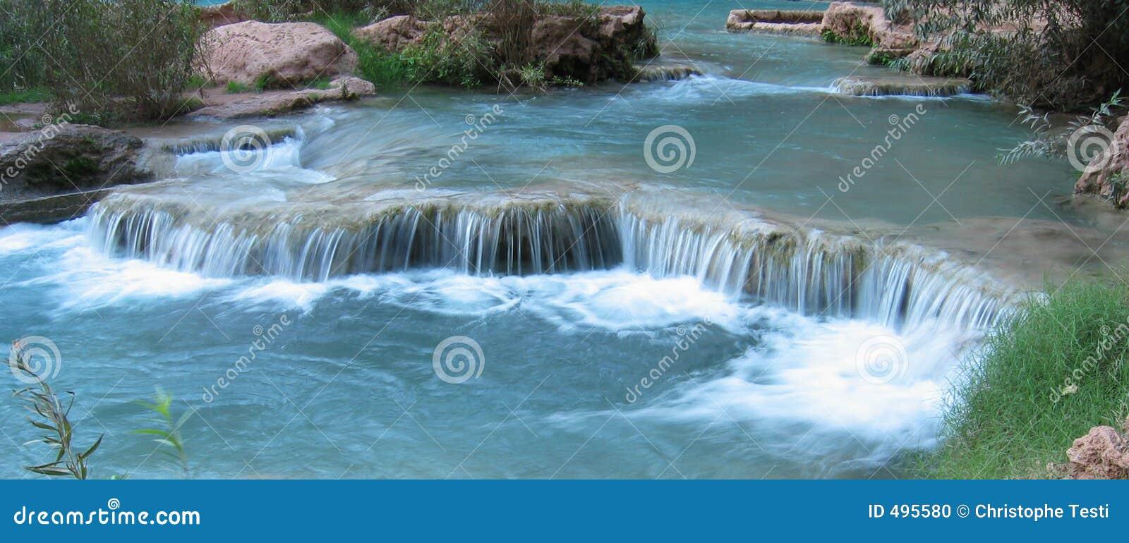 Havasu falls arizona stock photo image 495580 for Natural pools arizona