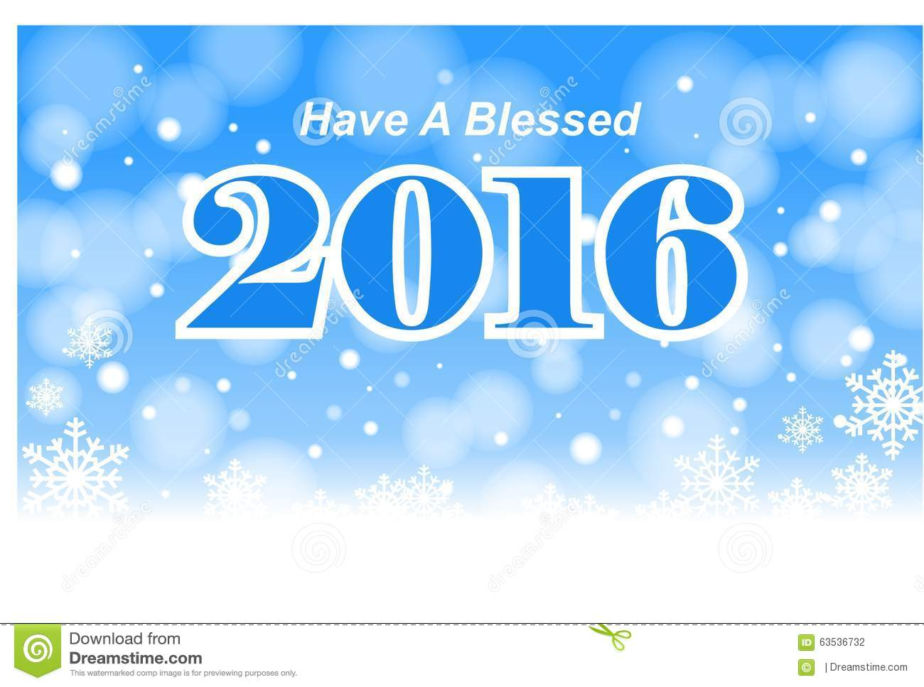 Have A Blessed 2016 Stock Photo Image Of Have Religious 63536732