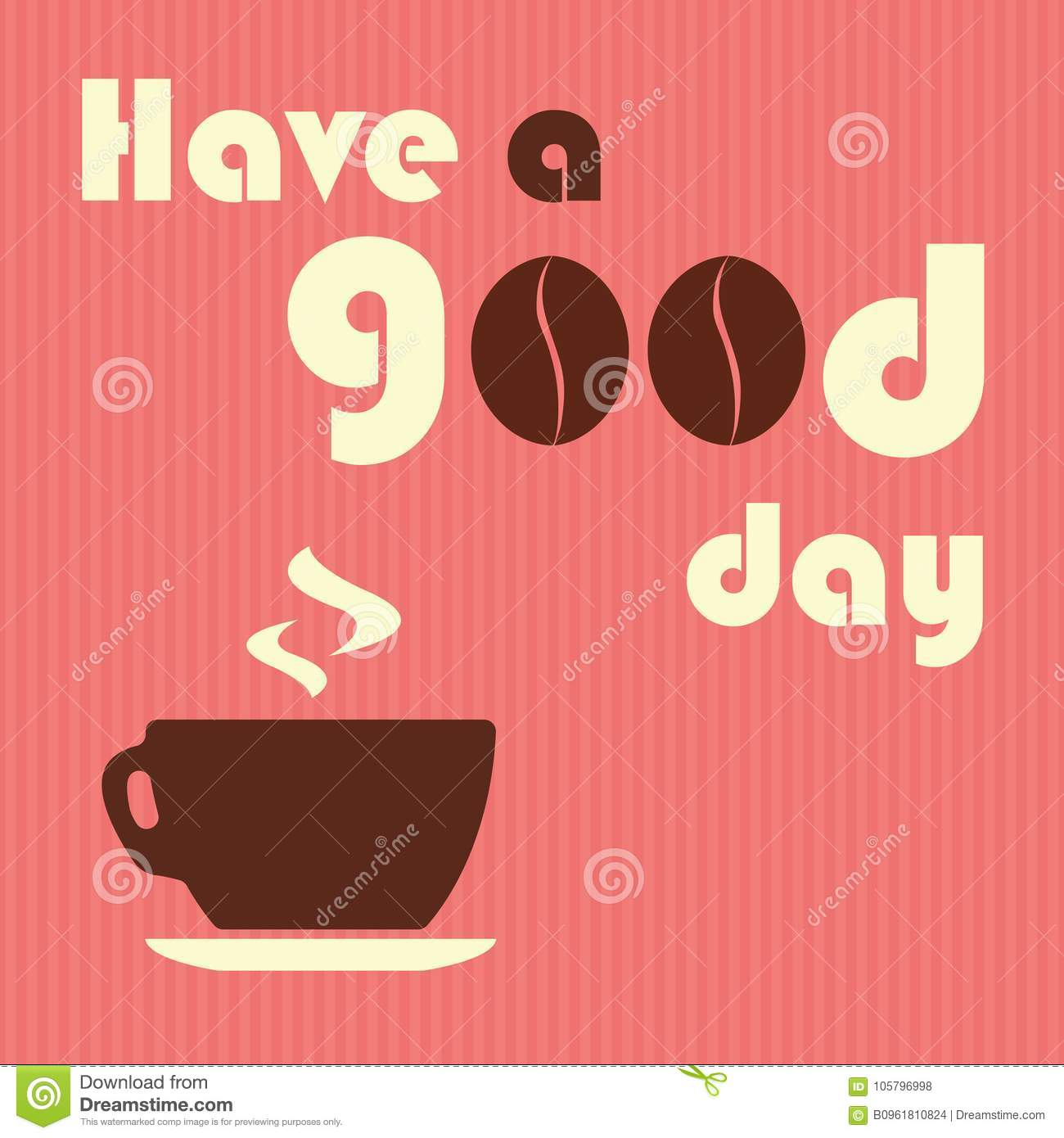 Have A Good Day Quotes Design For Coffee Shop Restaurants M