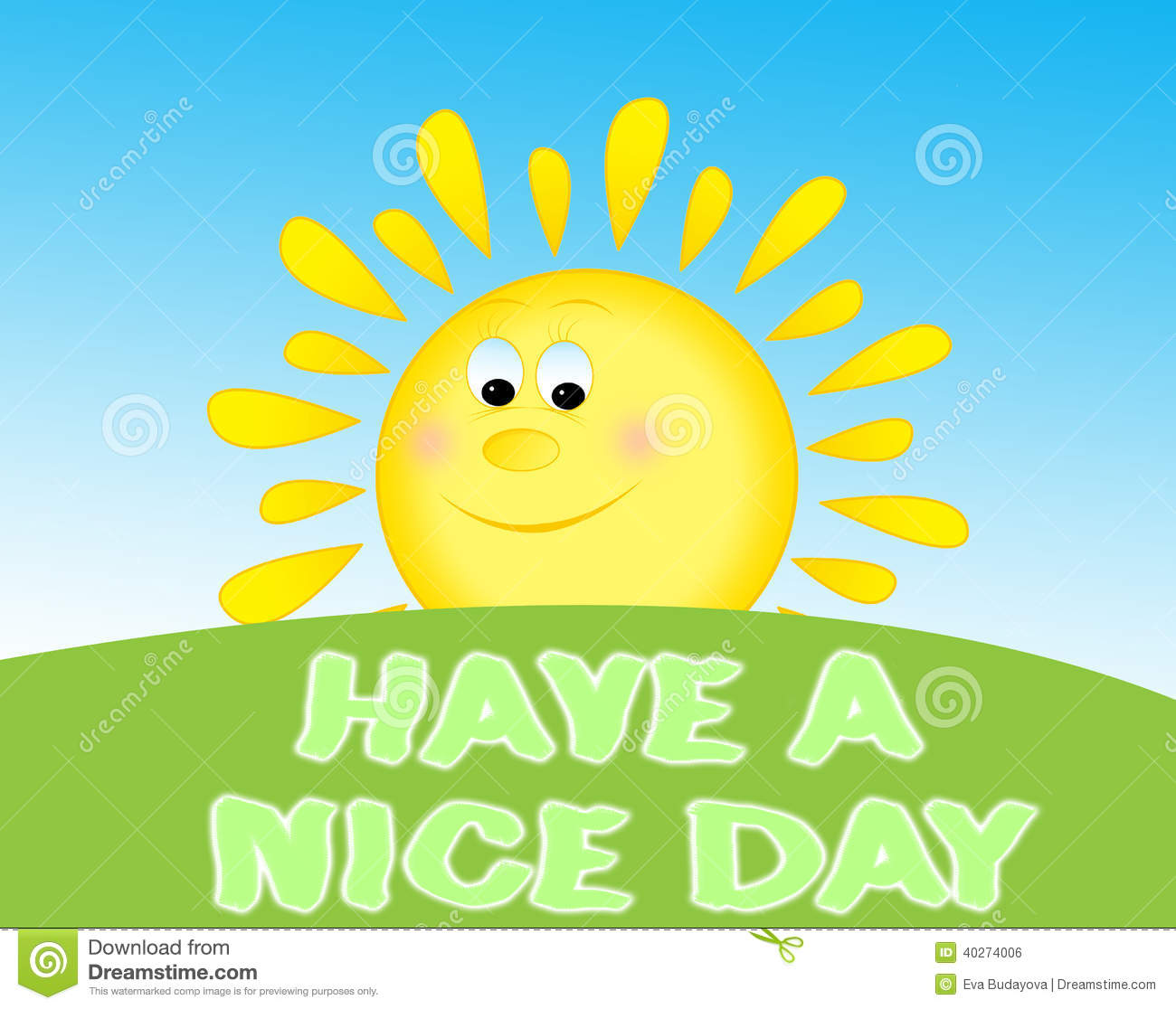 Have A Nice Day Stock Illustration  Image: 40274006