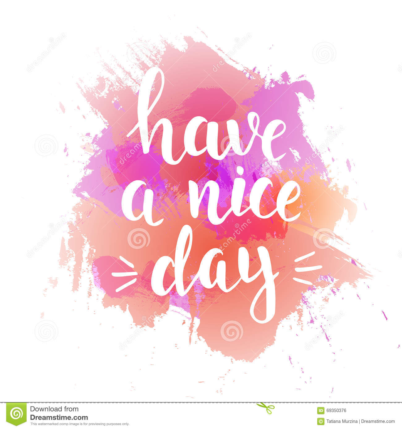 a nice day Goodbye usage notes have a nice day is used as a salutation similar in meaning to goodbye have a nice day is a commonly spoken valediction, typically.